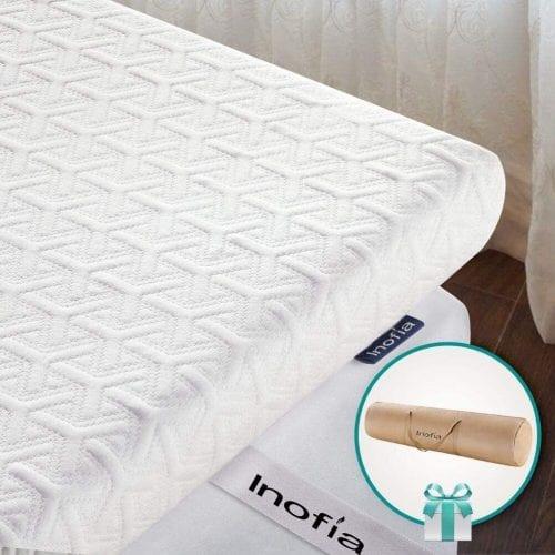 Inofia EcoGreen Memory Foam Mattress Topper Review 1
